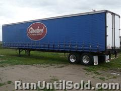 Curtain Side Van Trailer For Sale